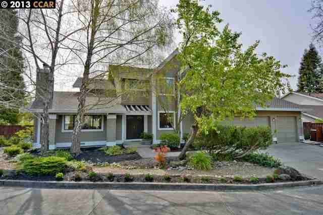 獨棟家庭住宅 為 出售 在 119 Club Terrace Danville, 加利福尼亞州 94526 美國