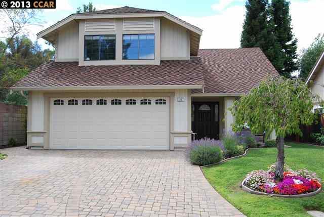Частный односемейный дом для того Продажа на 70 CHARDONNAY Court Danville, Калифорния 94506 Соединенные Штаты