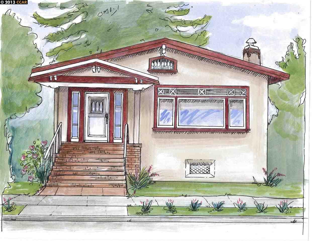 واحد منزل الأسرة للـ Sale في 2712 Prince Berkeley, California 94705 United States