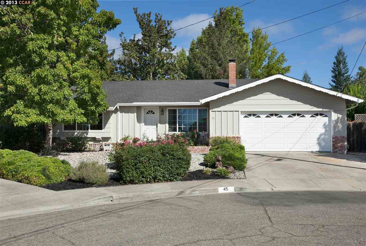 Single Family Home for Sale at 45 FIRCREST Court San Ramon, California 94583 United States