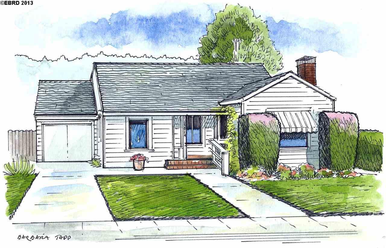獨棟家庭住宅 為 出售 在 1014 LIBERTY Street El Cerrito, 加利福尼亞州 94530 美國