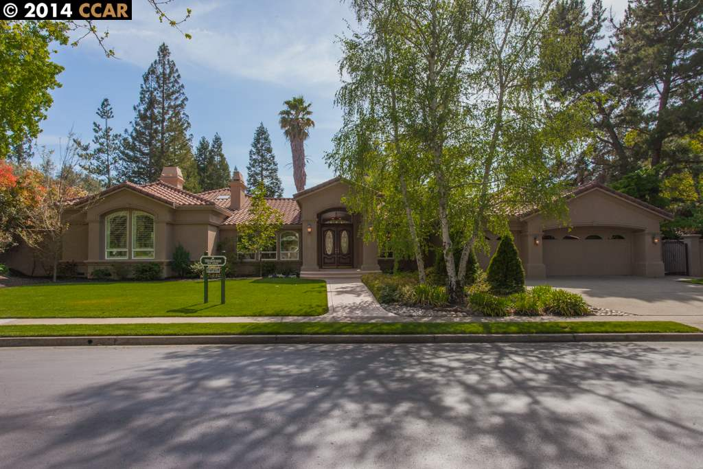 Single Family Home for Sale at 2460 HOLLY OAK Drive Danville, California 94506 United States