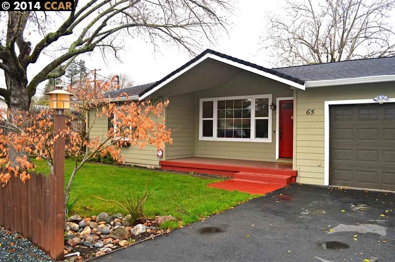 獨棟家庭住宅 為 出售 在 65 VIA DEL SOL Walnut Creek, 加利福尼亞州 94597 美國
