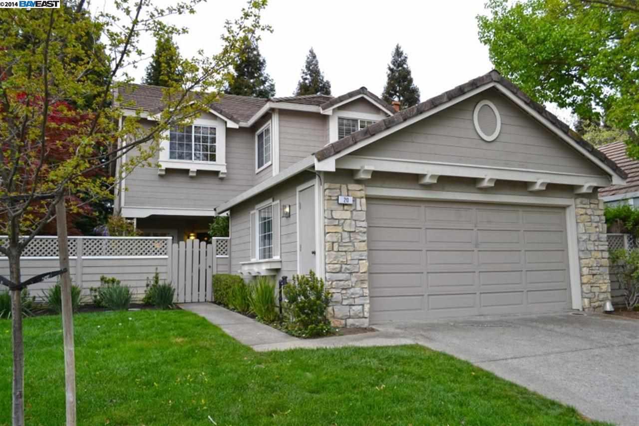 一戸建て のために 売買 アット 20 GLASGOW Circle Danville, カリフォルニア 94526 アメリカ合衆国