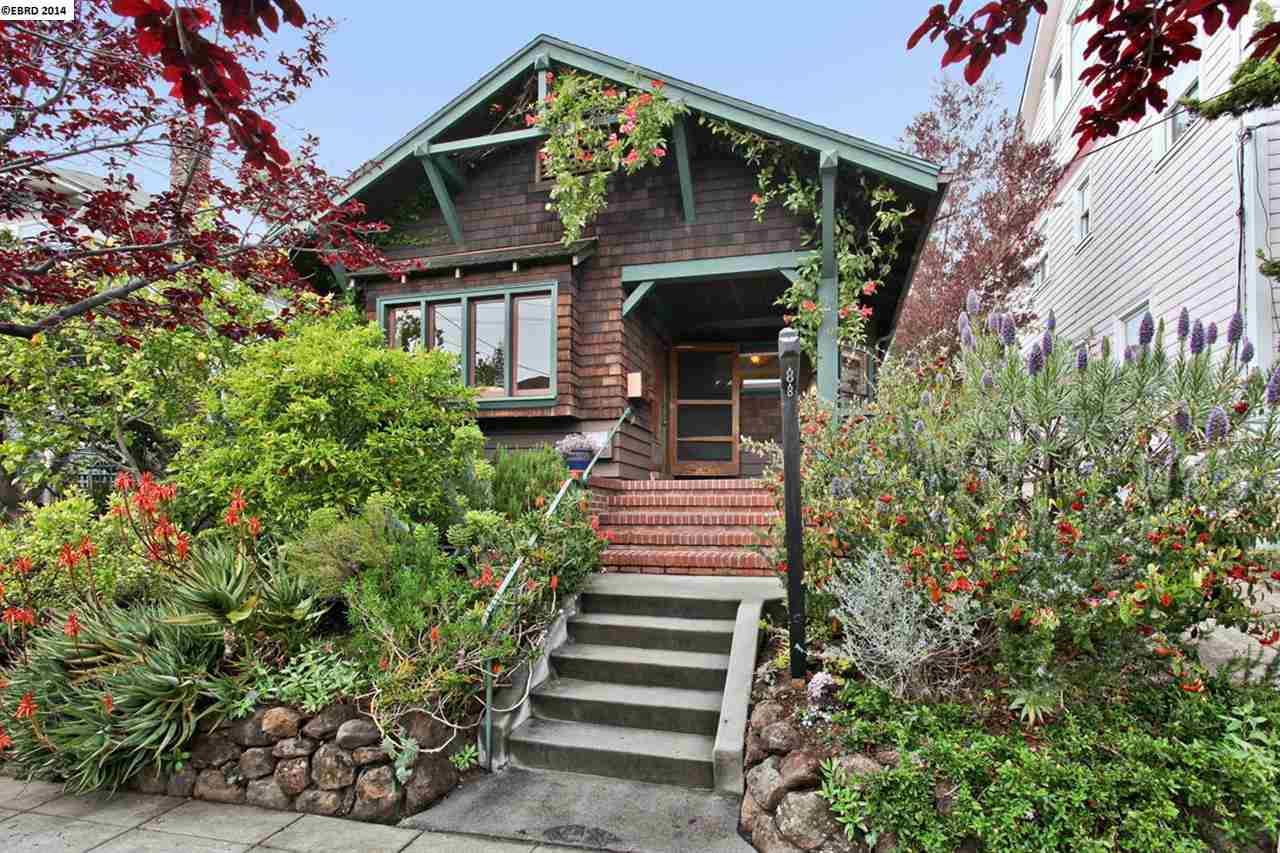 Maison unifamiliale pour l Vente à 2307 Stuart Street Berkeley, Californie 94705 États-Unis