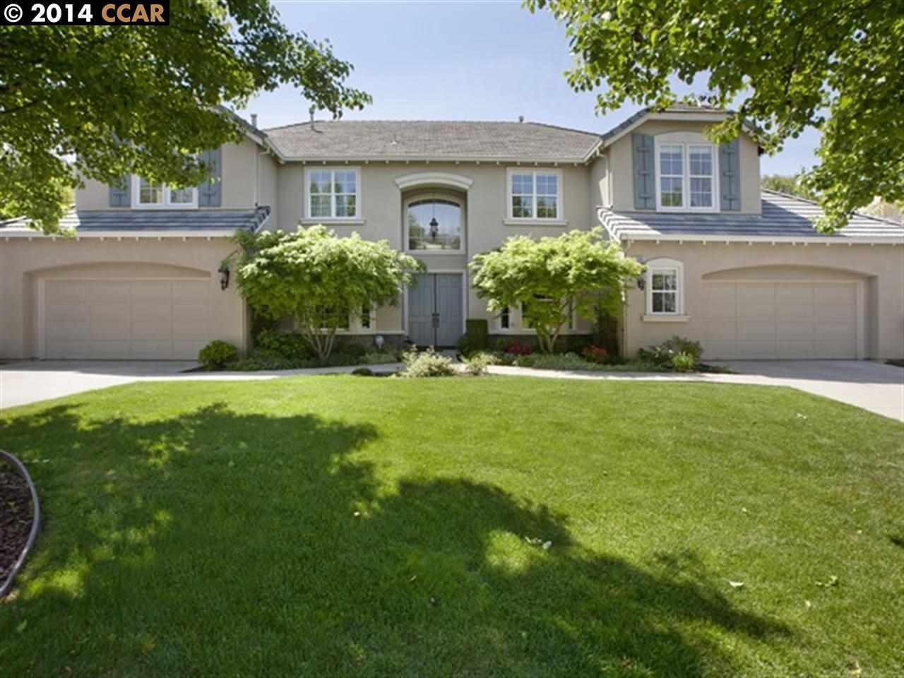 Частный односемейный дом для того Продажа на 1590 SERAFIX Road Alamo, Калифорния 94507 Соединенные Штаты