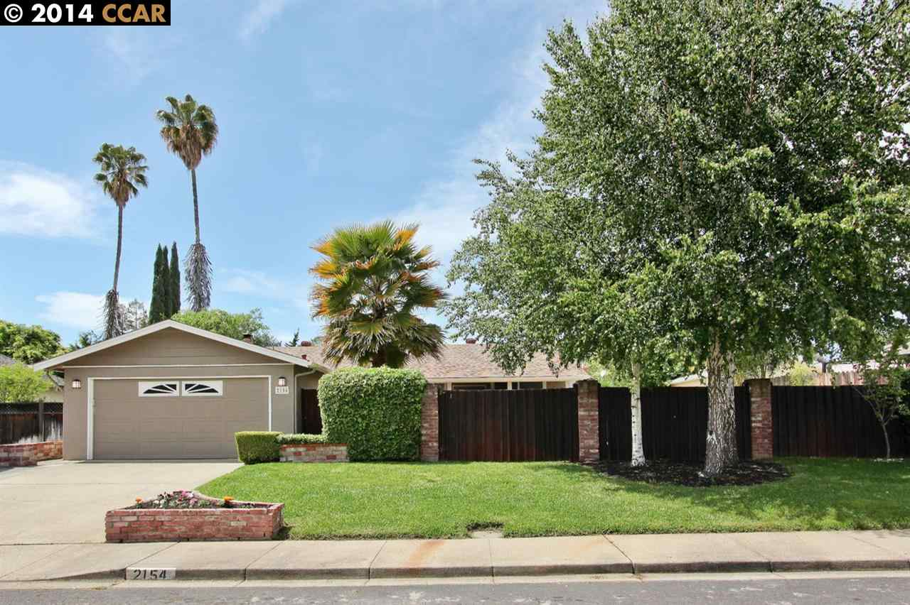 Single Family Home for Sale at 2154 ORIN Lane Pleasant Hill, California 94523 United States