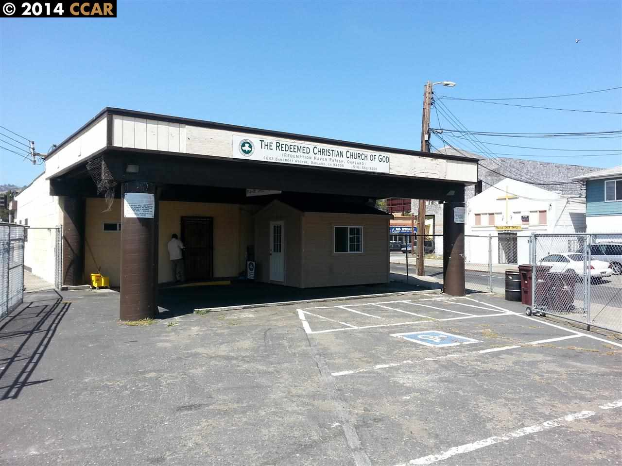 Commercial for Sale at 6643 BANCROFT Avenue 6643 BANCROFT Avenue Oakland, California 94605 United States