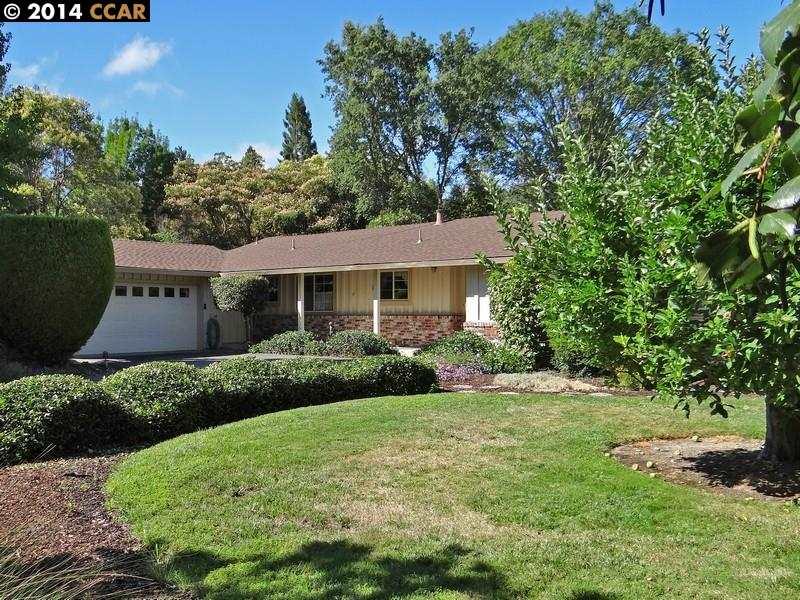 Частный односемейный дом для того Продажа на 149 Via Serena Alamo, Калифорния 94507 Соединенные Штаты