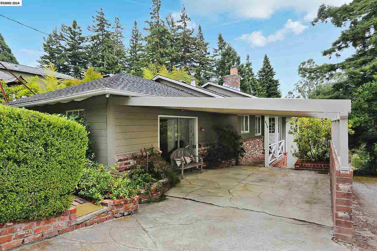 Casa Unifamiliar por un Venta en 458 BELOIT Avenue Kensington, California 94708 Estados Unidos
