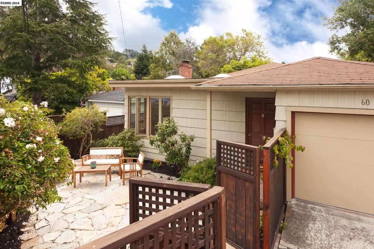 Casa Unifamiliar por un Venta en 60 ARLINGTON Court Kensington, California 94707 Estados Unidos
