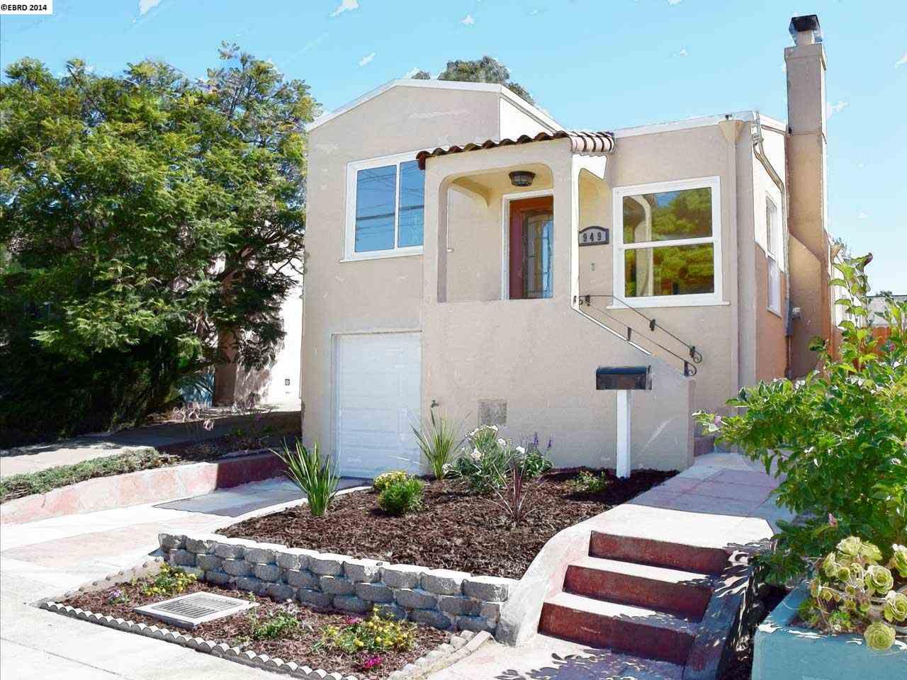 Частный односемейный дом для того Продажа на 949 EVELYN Avenue Albany, Калифорния 94706 Соединенные Штаты
