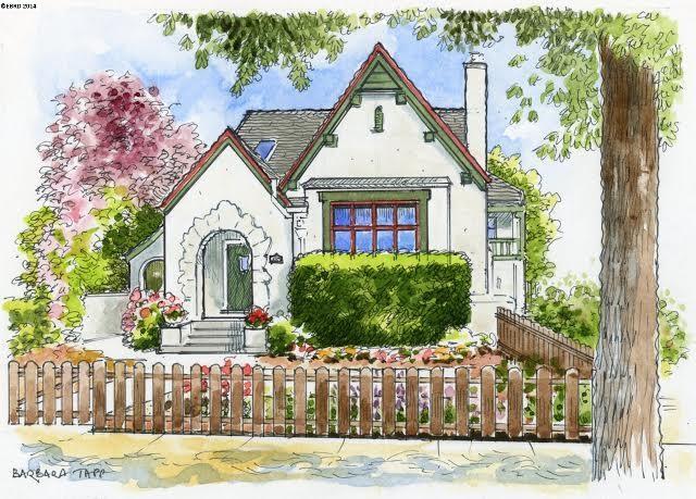 Maison unifamiliale pour l Vente à 543 58TH Street Oakland, Californie 94609 États-Unis