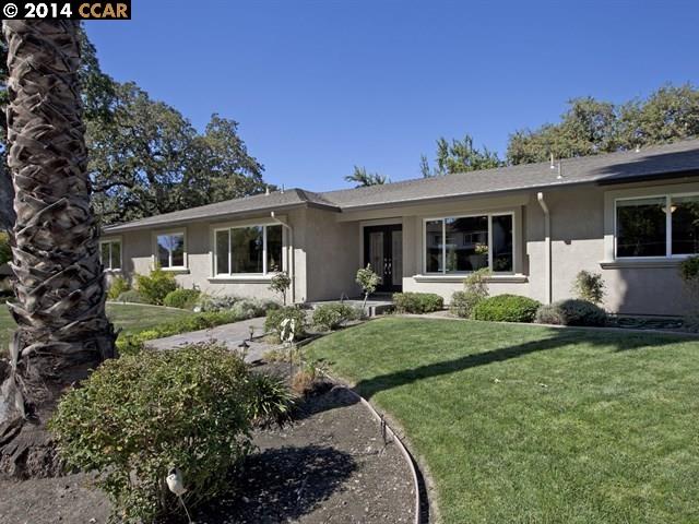 Maison unifamiliale pour l Vente à 2070 BANBURY Road Walnut Creek, Californie 94598 États-Unis