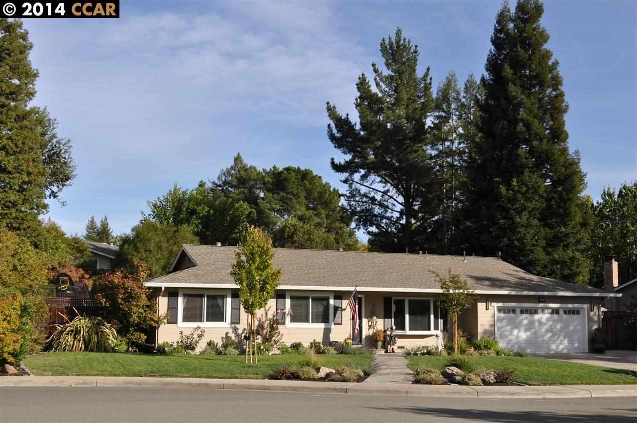 Частный односемейный дом для того Продажа на 212 Farm Hill Court Danville, Калифорния 94526 Соединенные Штаты