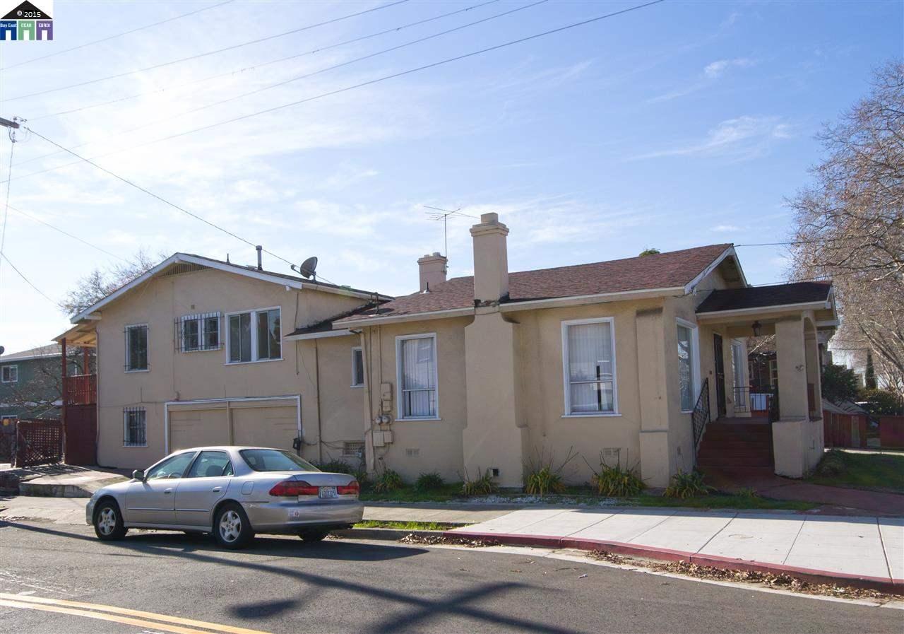 獨棟家庭住宅 為 出售 在 1332 ALCATRAZ Avenue Berkeley, 加利福尼亞州 94702 美國