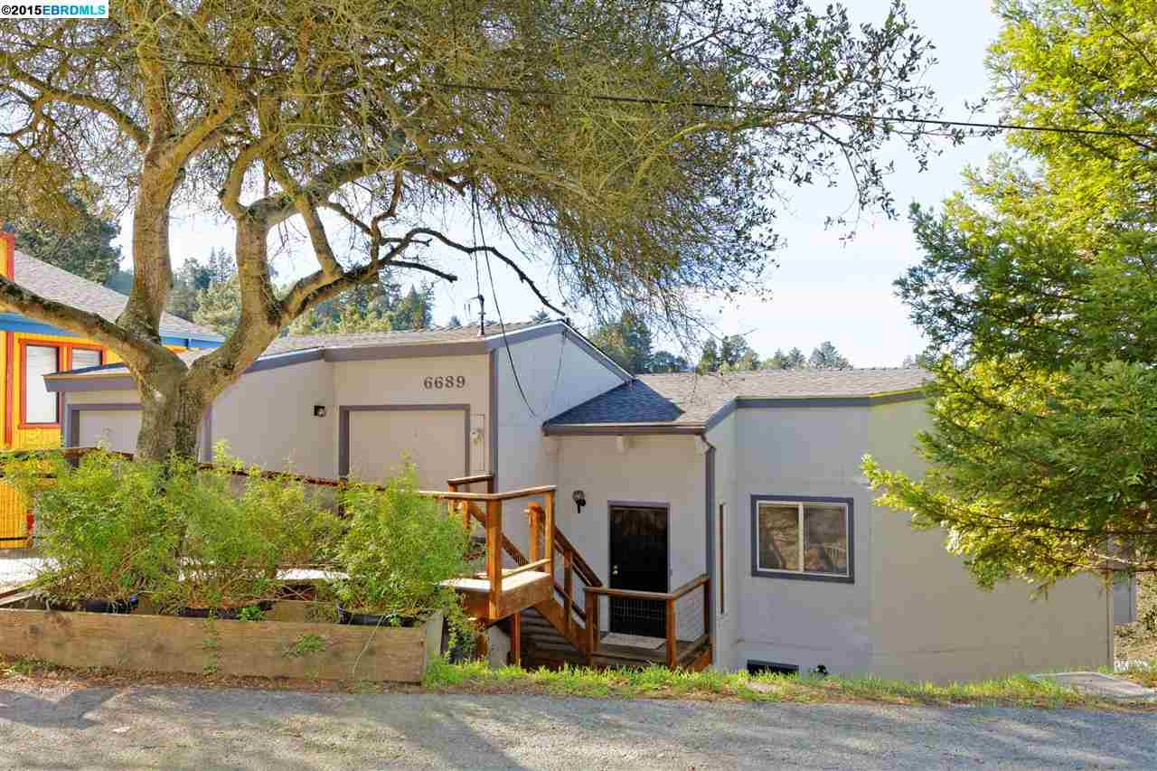 獨棟家庭住宅 為 出售 在 6689 EXETER Drive Oakland, 加利福尼亞州 94611 美國