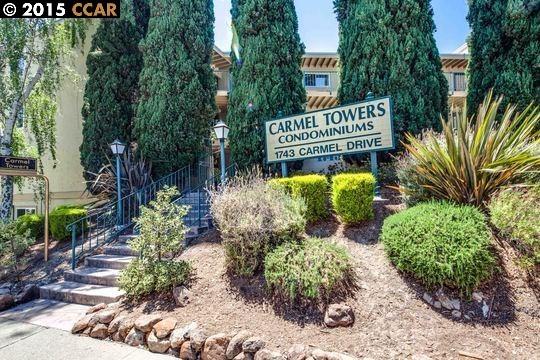 Частный односемейный дом для того Продажа на 1743 Carmel Drive Walnut Creek, Калифорния 94596 Соединенные Штаты