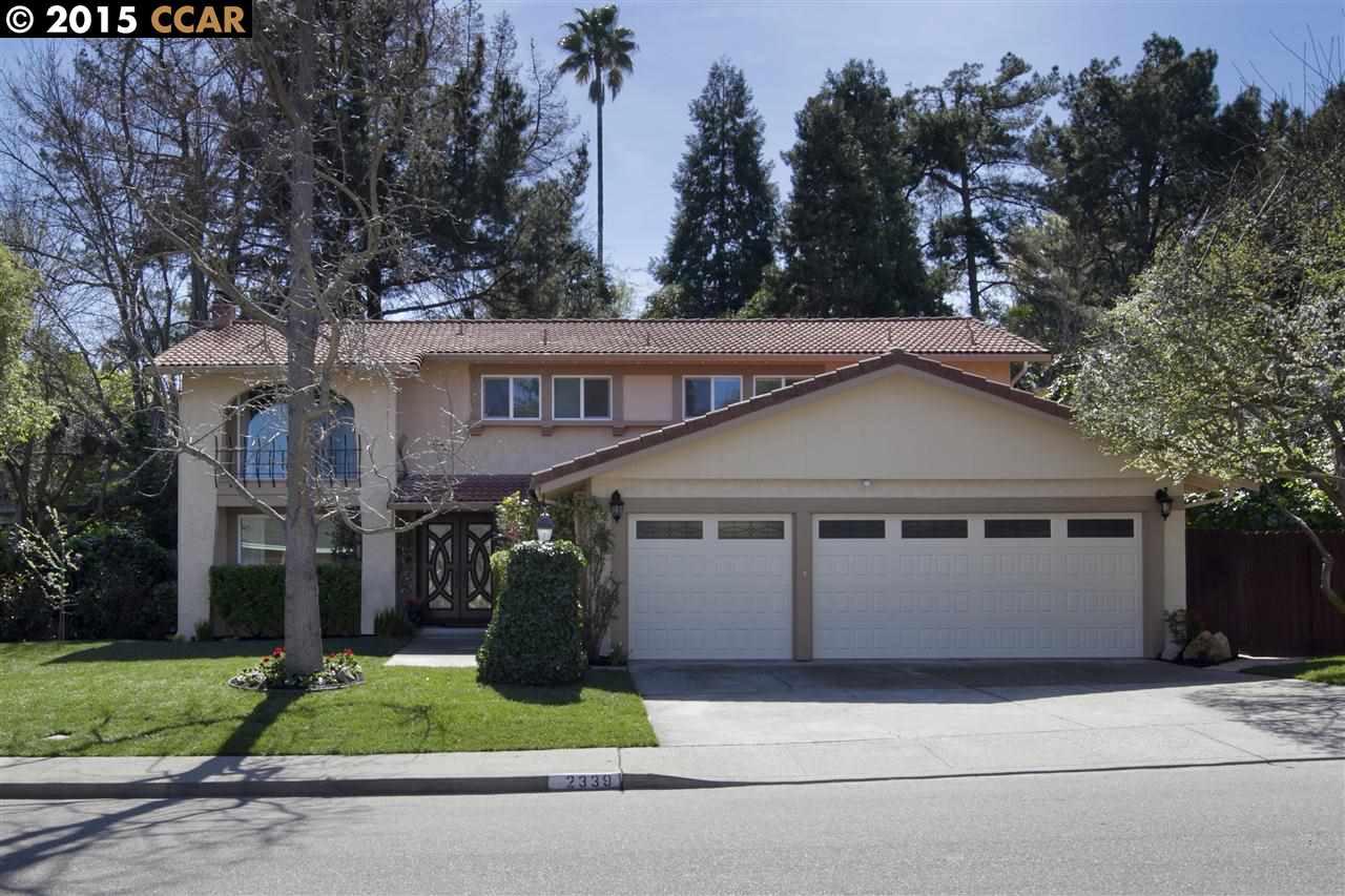 Einfamilienhaus für Verkauf beim 2339 LARIAT Lane Walnut Creek, Kalifornien 94596 Vereinigte Staaten