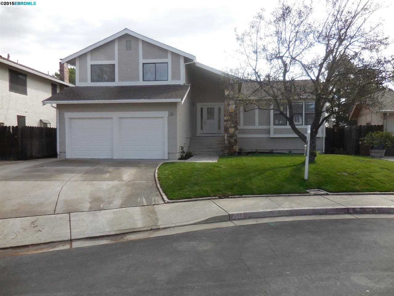 Single Family Home for Sale at 1513 ALEXIS Court Antioch, California 94509 United States