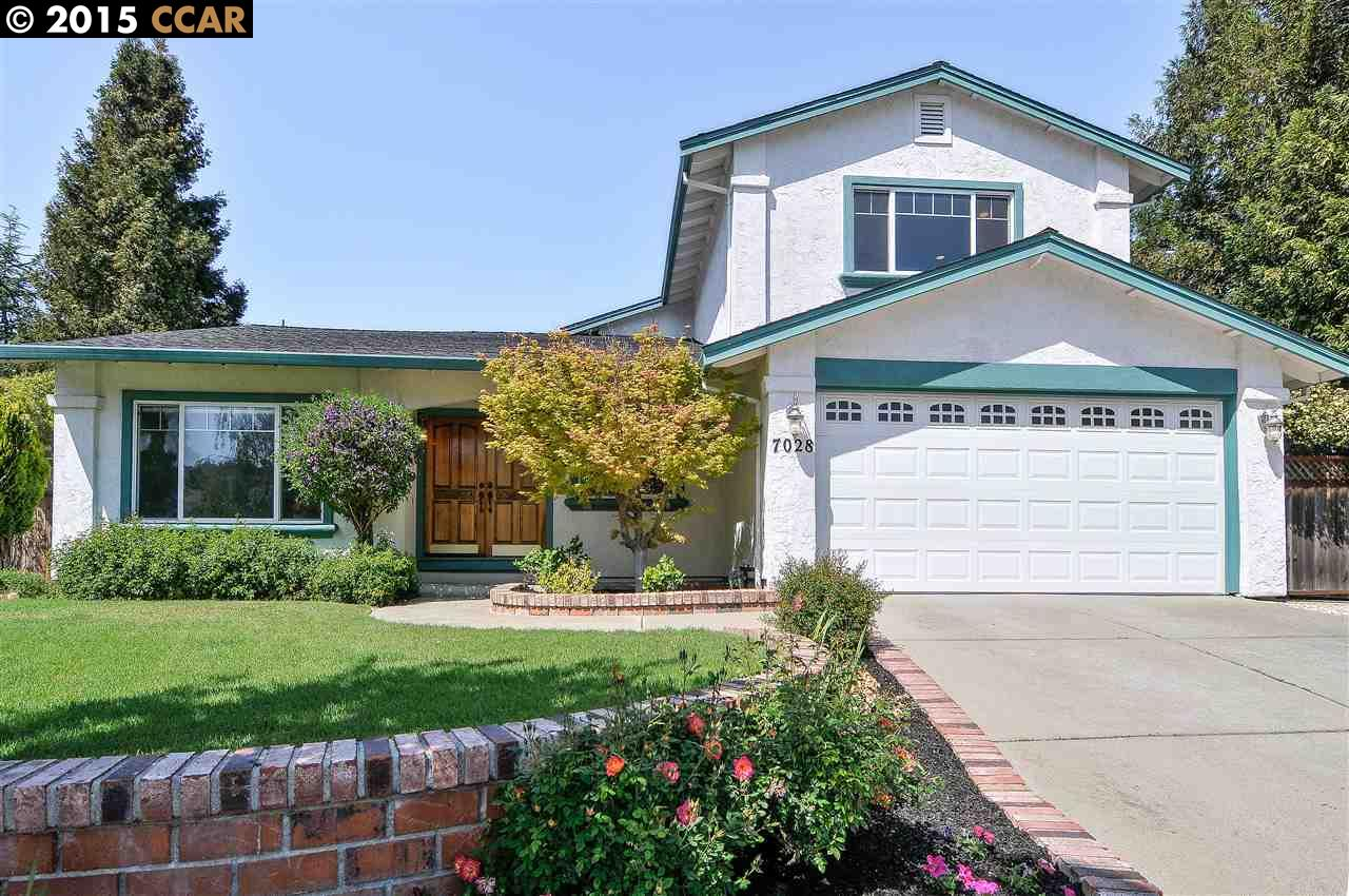 Частный односемейный дом для того Продажа на 7028 VIA QUITO Pleasanton, Калифорния 94566 Соединенные Штаты