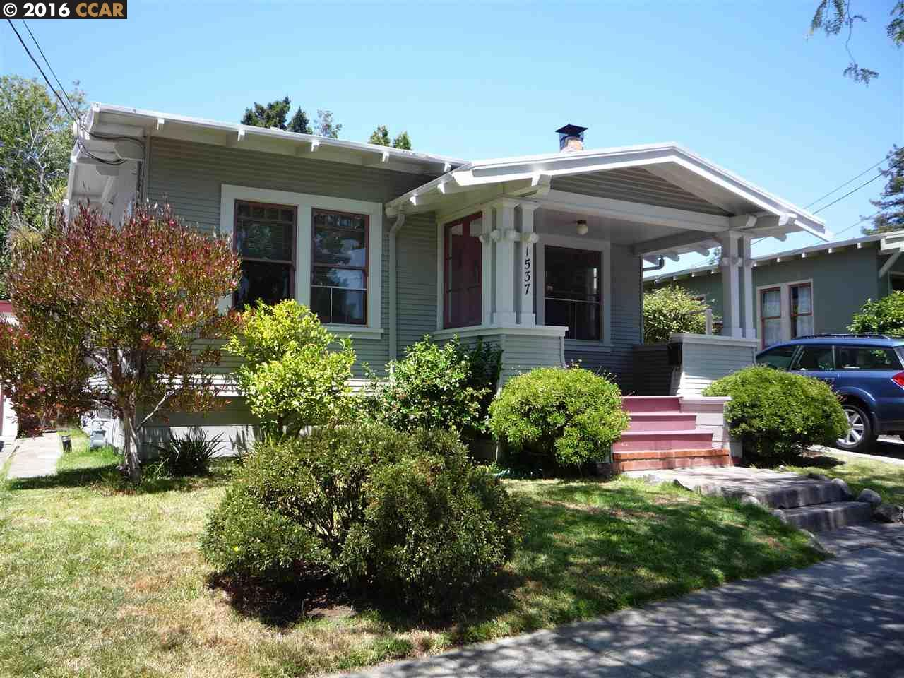 Single Family Home for Sale at 1537 CEDAR Street Berkeley, California 94703 United States