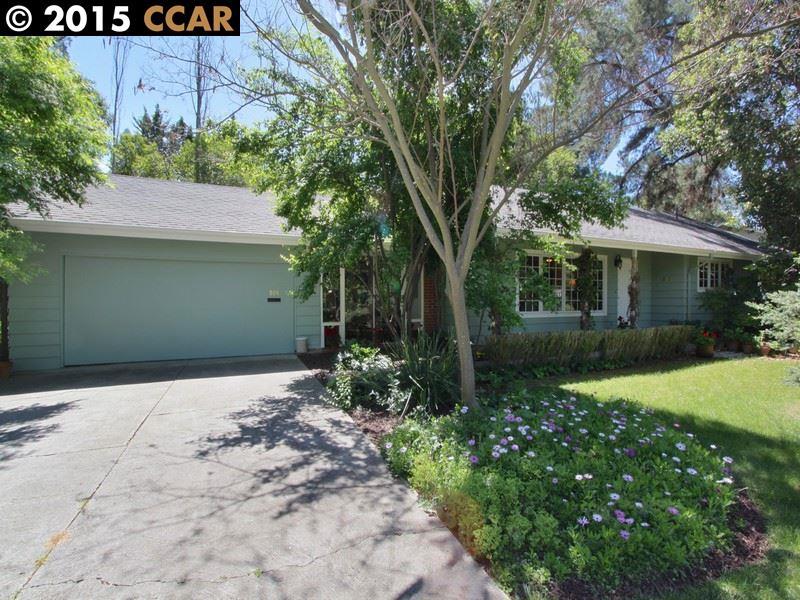 一戸建て のために 売買 アット 809 HUTCHINSON Road Walnut Creek, カリフォルニア 94598 アメリカ合衆国