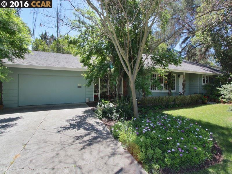 Single Family Home for Sale at 809 HUTCHINSON Road Walnut Creek, California 94598 United States
