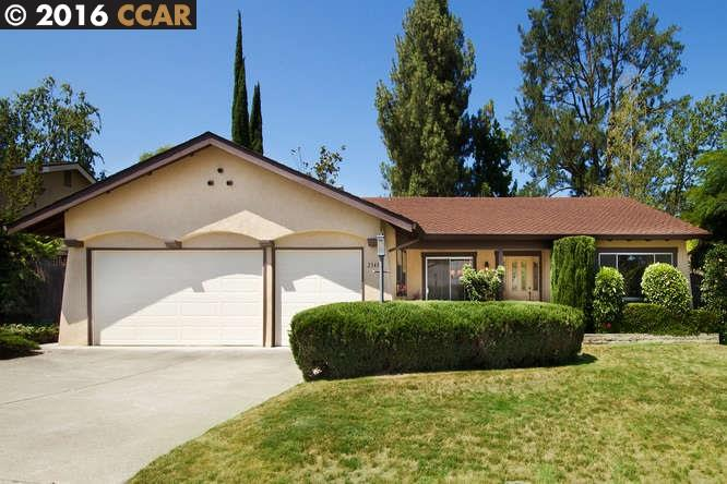 Single Family Home for Sale at 2343 TROTTER WAY Walnut Creek, California 94596 United States