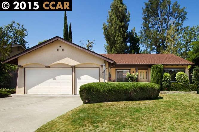 Einfamilienhaus für Verkauf beim 2343 TROTTER WAY Walnut Creek, Kalifornien 94596 Vereinigte Staaten