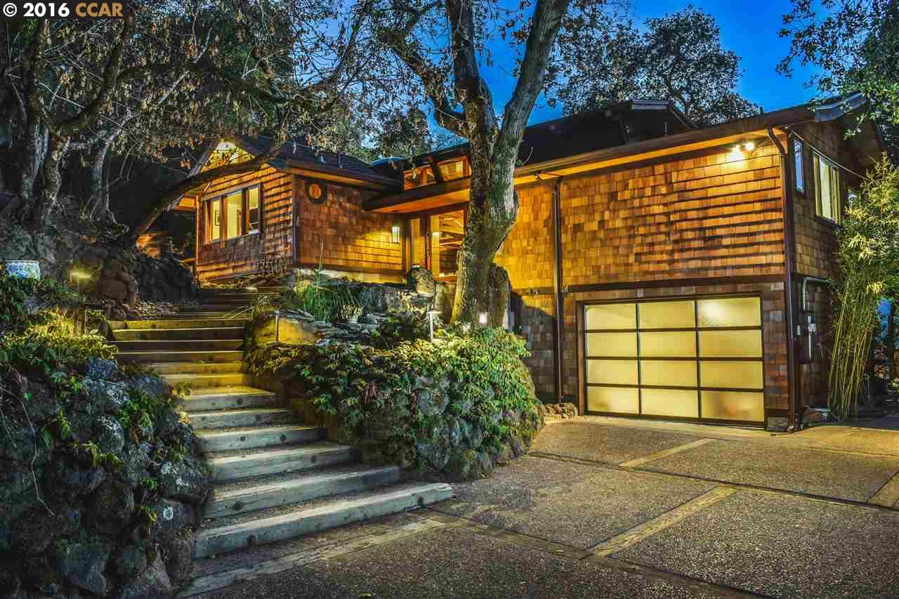 Single Family Home for Sale at 50 Las Cascadas Road Orinda, California 94563 United States