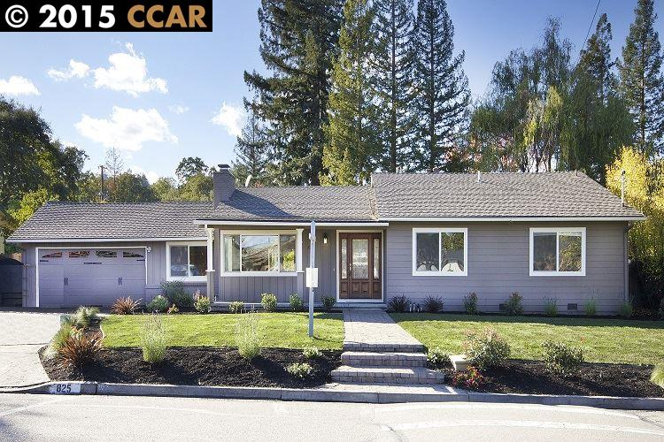 Einfamilienhaus für Verkauf beim 825 AVALON Avenue Lafayette, Kalifornien 94549 Vereinigte Staaten