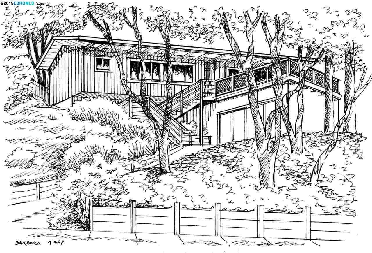 Частный односемейный дом для того Продажа на 971 Regal Berkeley, Калифорния 94708 Соединенные Штаты