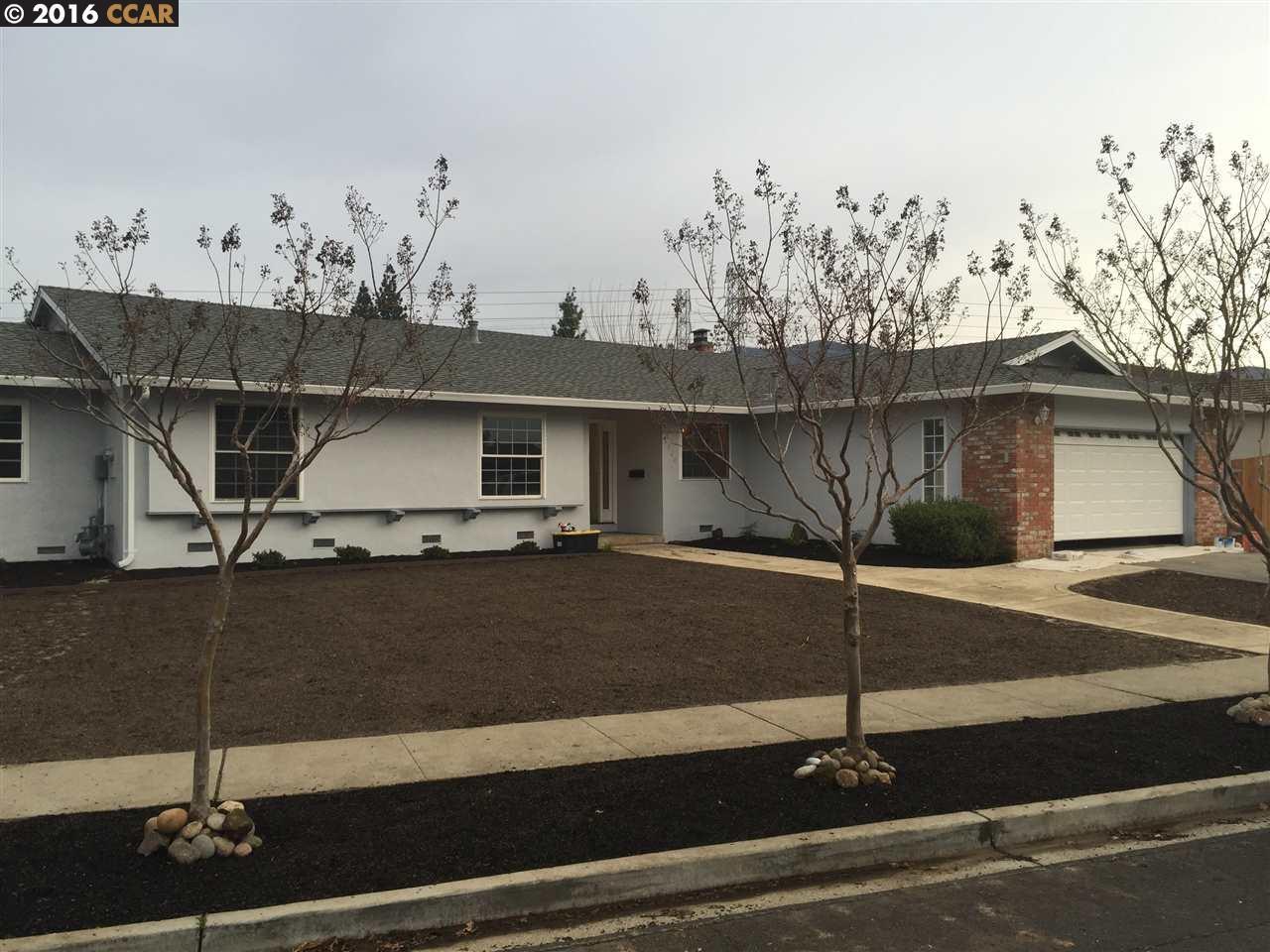 Частный односемейный дом для того Продажа на 1366 BALHAN Drive Concord, Калифорния 94521 Соединенные Штаты