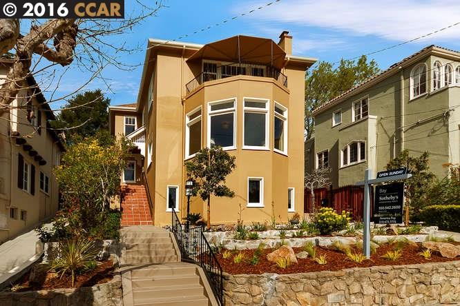 Single Family Home for Sale at 806 ROSEMOUNT Road Oakland, California 94610 United States