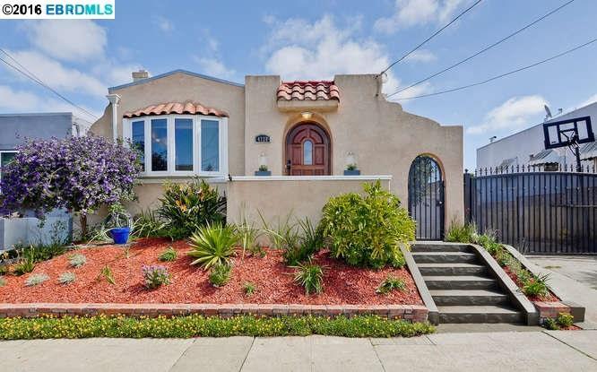 واحد منزل الأسرة للـ Sale في 4728 MELDON Avenue Oakland, California 94619 United States