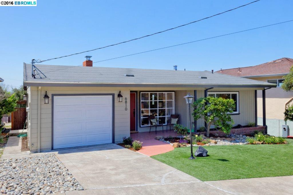 Attractive well maintained, blocks from BART. Updated kitchen, new SS appliances & quartz counter. Gorgeous back yard with views. Master bedroom with 2nd full bath. Dining area. Finished lower basement. Many upgrades: new roof, water heater, refinished hardwood floors, fresh paint. Separate laundry.