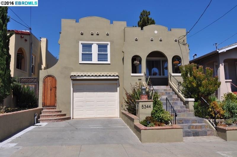 獨棟家庭住宅 為 出售 在 5344 WALNUT Street Oakland, 加利福尼亞州 94619 美國