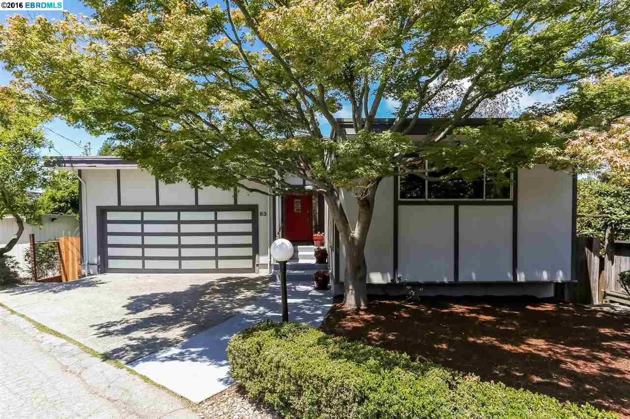 Single Family Home for Sale at 63 Asilomar Circle Oakland, California 94611 United States