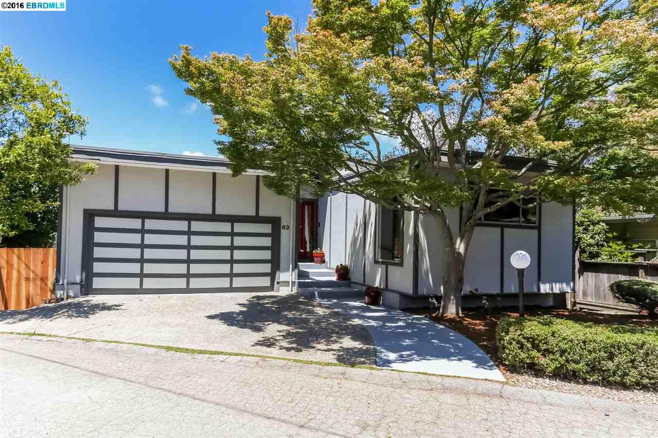 Additional photo for property listing at 63 Asilomar Circle  Oakland, California 94611 United States