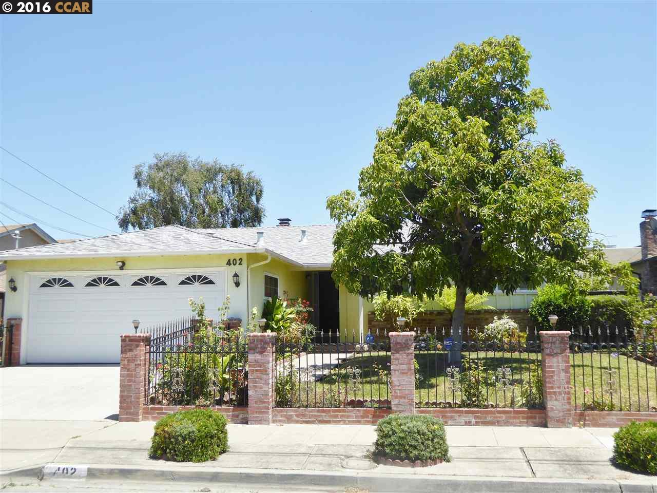 Single Family Home for Sale at 402 MACKENZIE Place Hayward, California 94544 United States