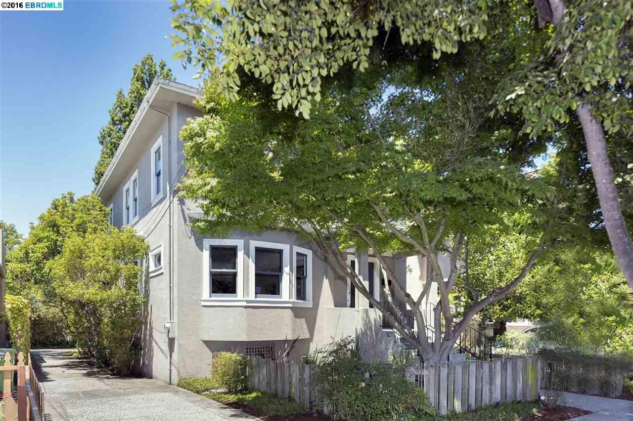 一戸建て のために 売買 アット 6427 Colby Street Oakland, カリフォルニア 94618 アメリカ合衆国