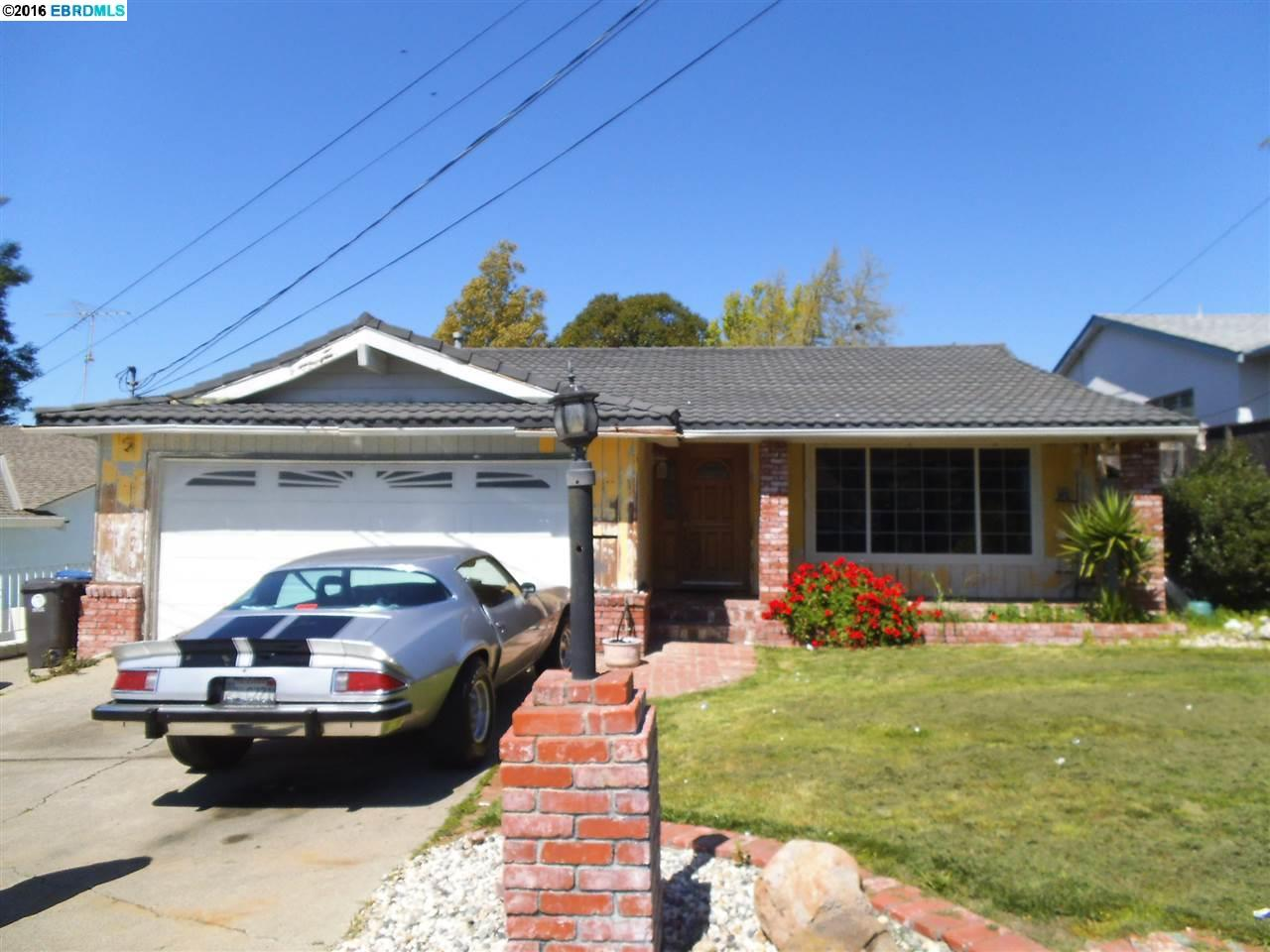 Single Family Home for Sale at 5214 Reedley Way Castro Valley, California 94546 United States