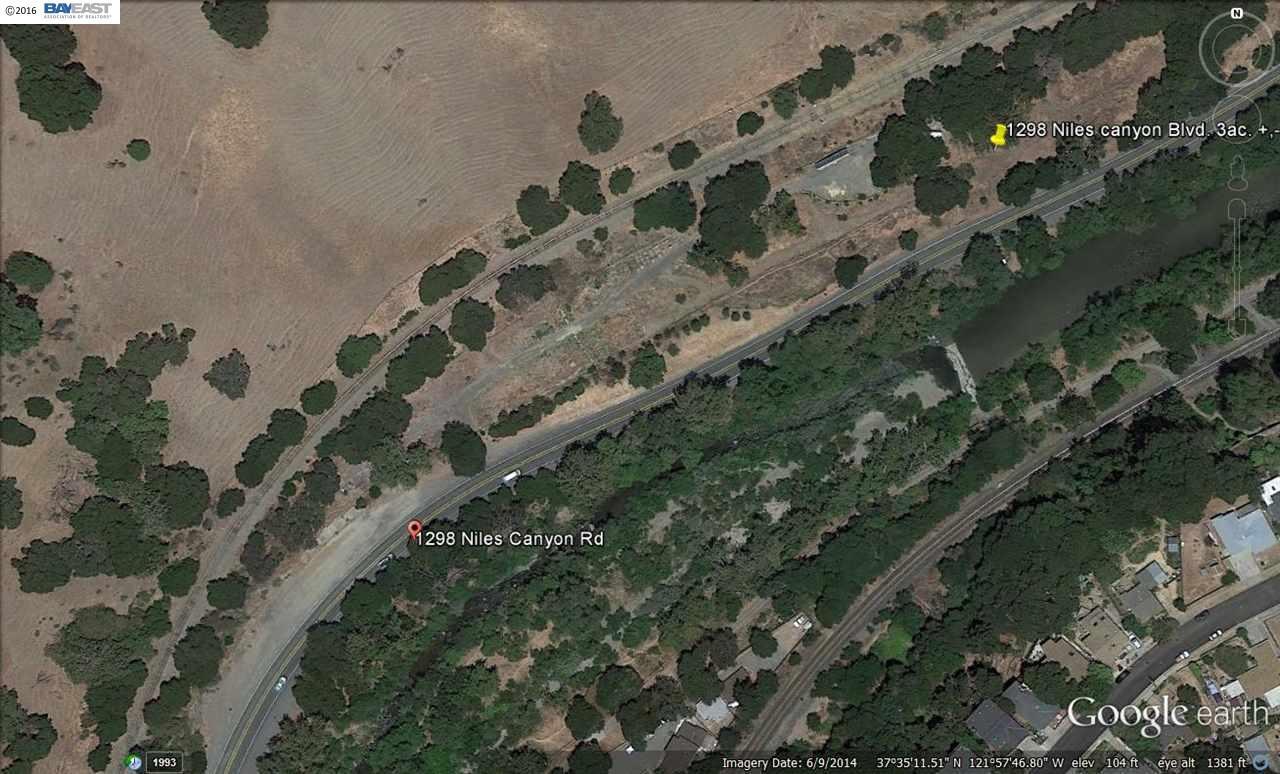 Terrain pour l Vente à 1298 Niles Canyon Road 1298 Niles Canyon Road Fremont, Californie 94536 États-Unis