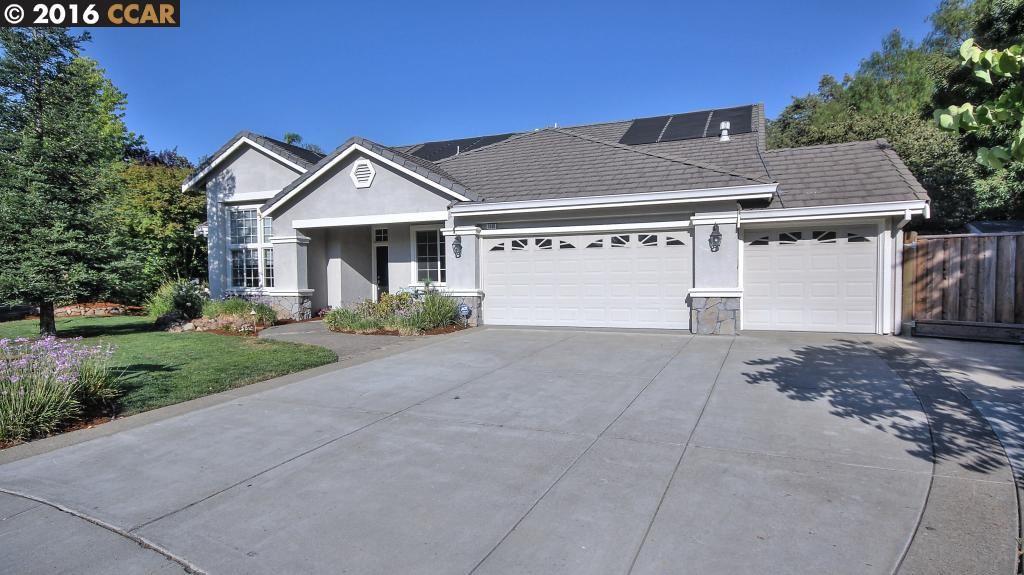 獨棟家庭住宅 為 出售 在 1980 HOLLY CREEK Place Concord, 加利福尼亞州 94521 美國