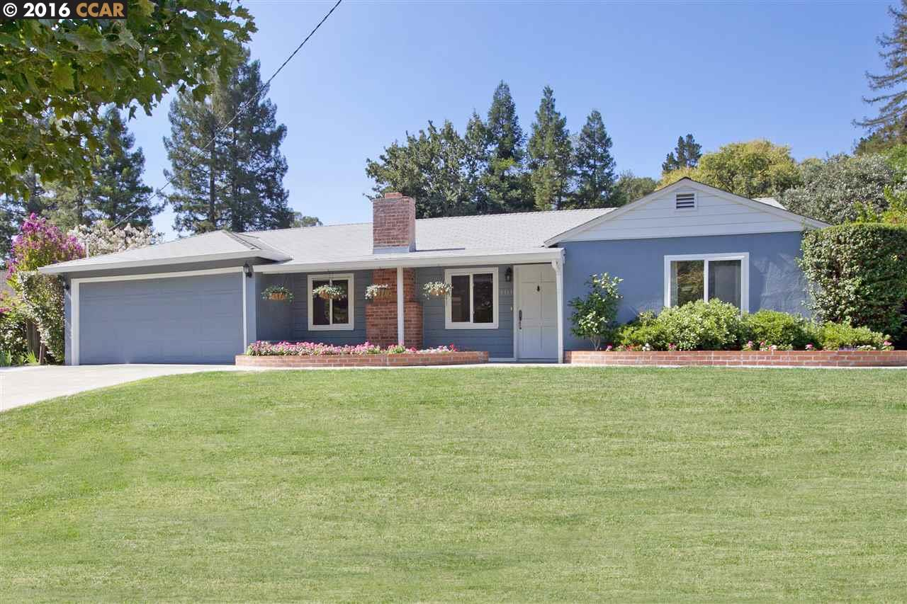 Maison unifamiliale pour l Vente à 3313 MILDRED Lane Lafayette, Californie 94549 États-Unis