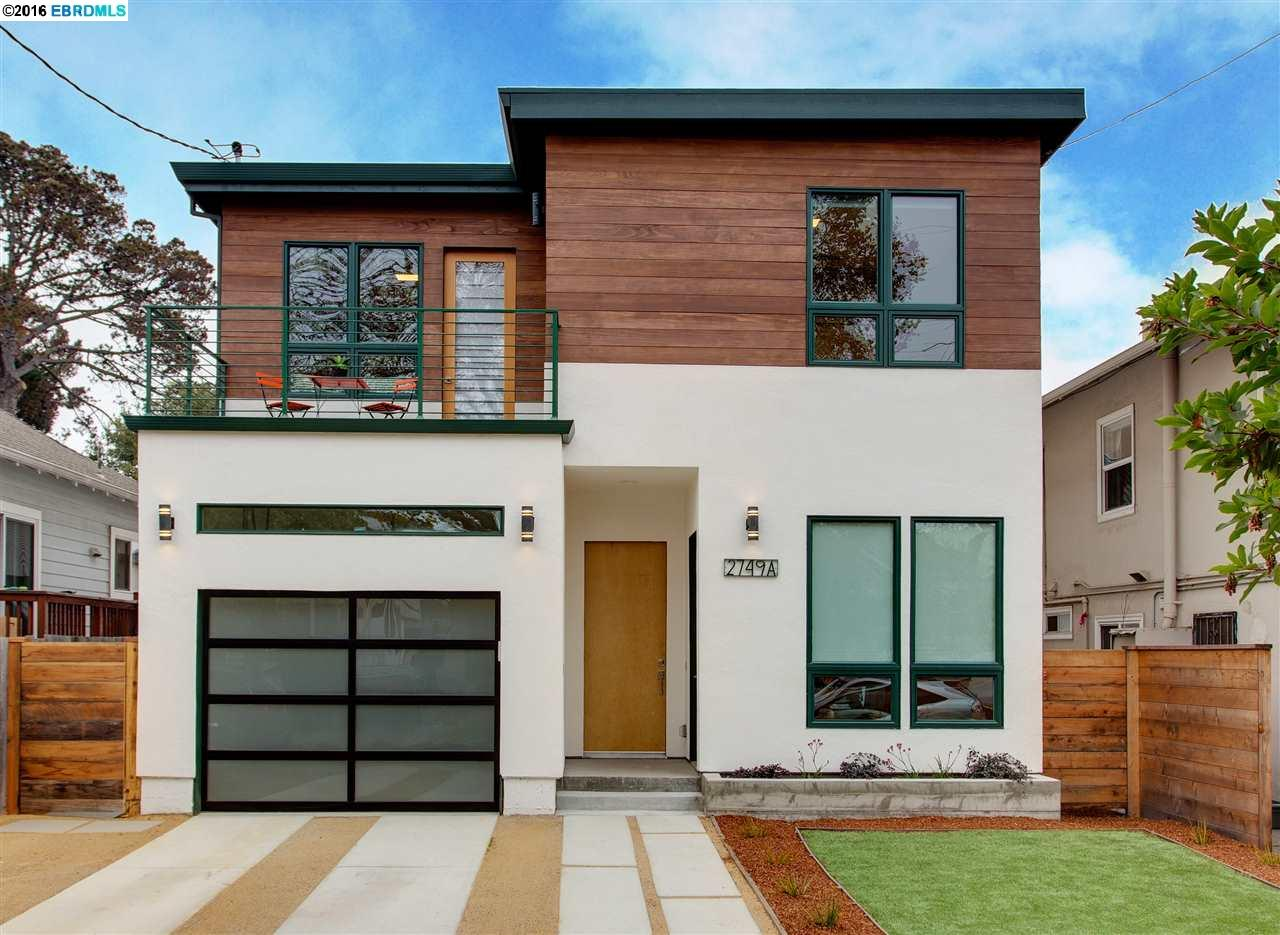 Single Family Home for Sale at 2749A Acton Street Berkeley, California 94702 United States