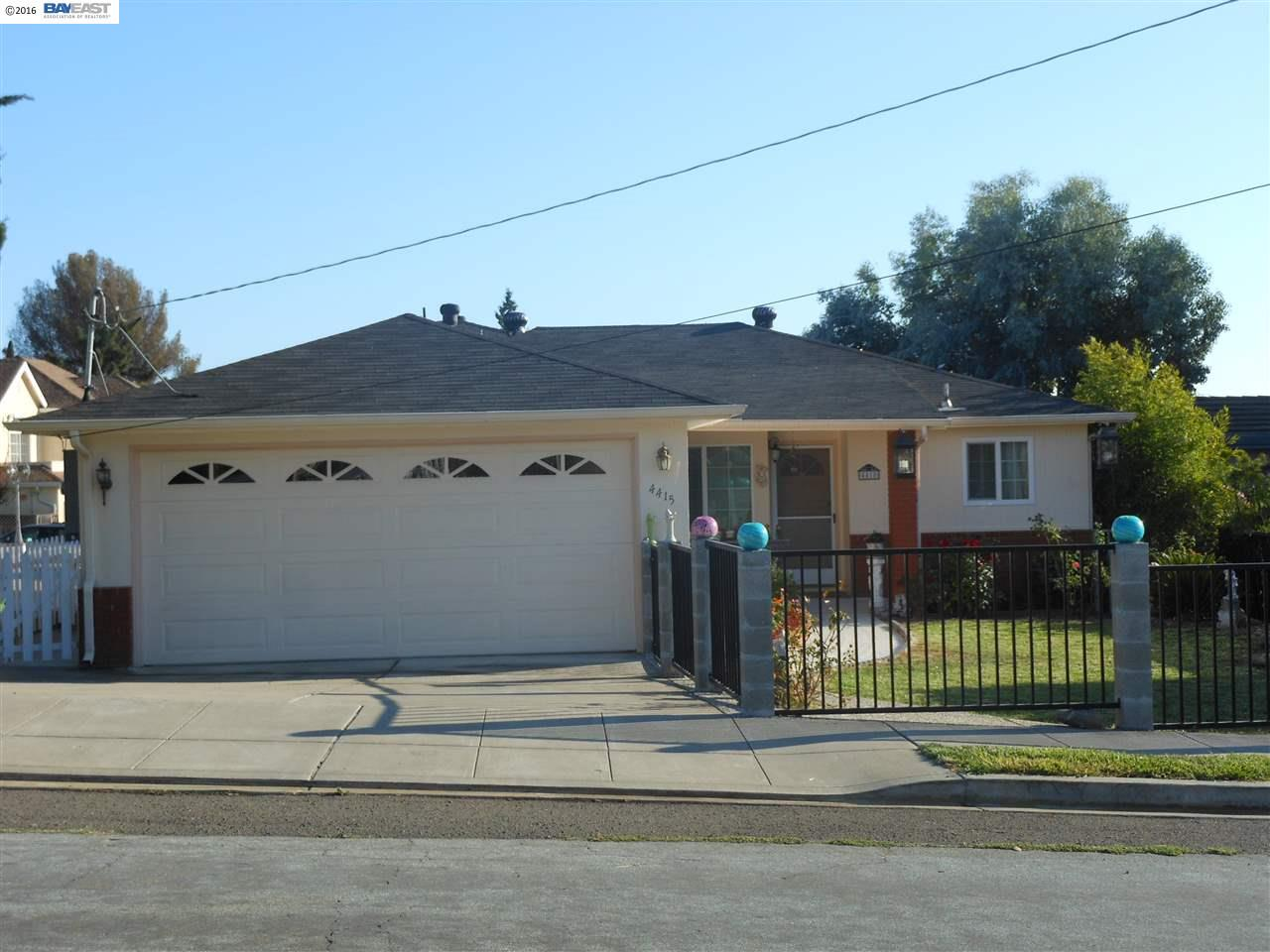 Single Family Home for Sale at 4415 JAMES Avenue Castro Valley, California 94546 United States
