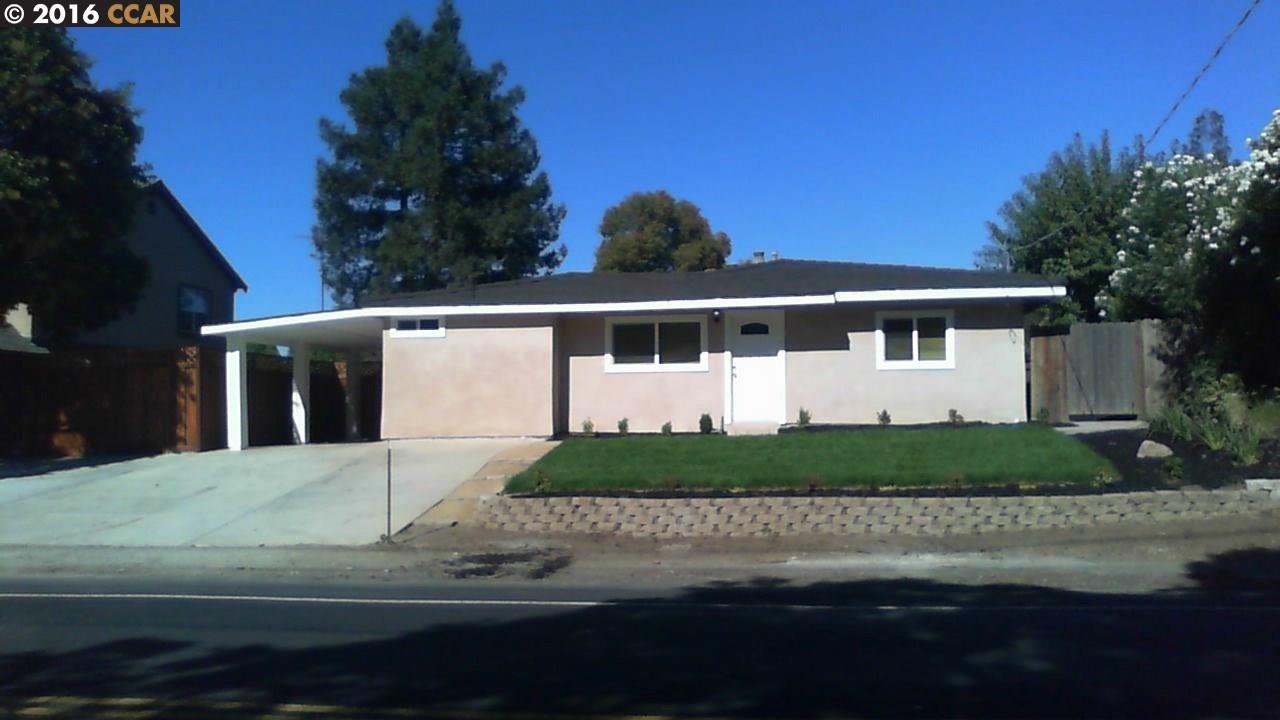 Частный односемейный дом для того Продажа на 3121 Cowell Road 3121 Cowell Road Concord, Калифорния 94520 Соединенные Штаты