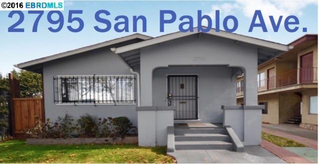 2795 San Pablo Ave., BERKELEY, CA 94702